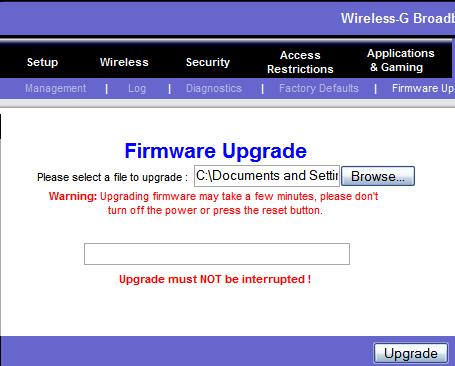 Linksys Firmware
