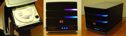 HP 2100 Media Vault